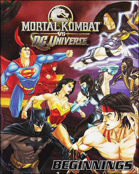 MK vs DC cover
