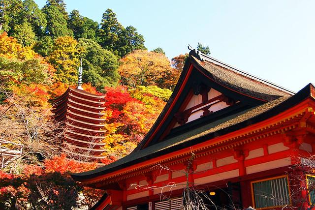 20101120_092158_談山神社_神廟拝所と十三重塔