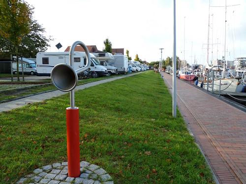 in Emden - Hafen für Boote und Mobile - www.huttanus.de