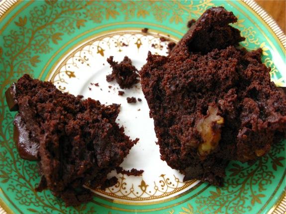 whole wheat chocolate brownies 007