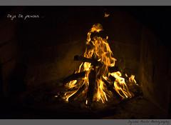 Deja de pensar . . . (Ignasi Pardo AR) Tags: 50mm nikon fuego f18 chimenea lea d90 iso1000 13200sec