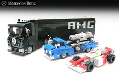 Mercedes-Benz Race Car Carriers