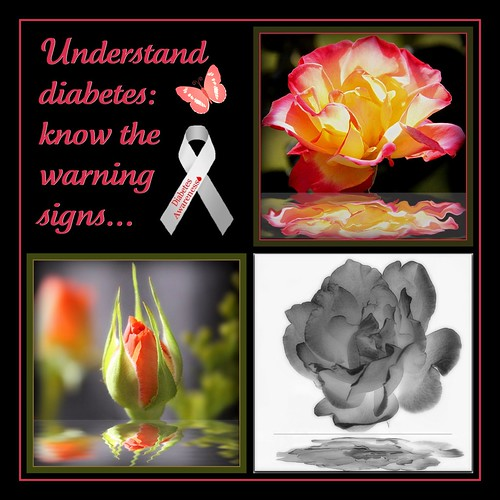 Understand Diabetes: know the warning signs...