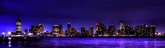 New Jersey, view from Manhattan (Arutemu) Tags: city nyc newyorkcity ny newyork night america lights cityscape nightscape nightshot manhattan scenic scene nighttime american citylights nightview scenes nuevayork  eos50d