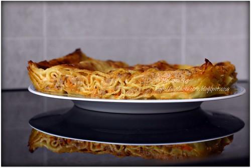 lasagne al ragù con zucca rossa