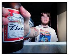 beer (Ian DevlinPhoto) Tags: beer ian fridge nikon sb600 1224mm f4 devlin budwiser d300s ianlolz