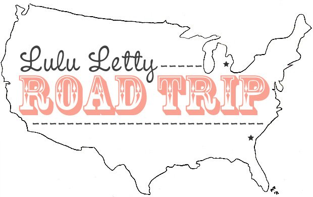 Lulu Letty road trip
