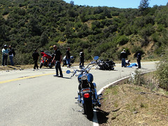 Death on Hwy 33 (avilon_music) Tags: california street mountain mountains forest death highway crash accident motorcycles harley harleydavidson motorcycle sportbikes southerncalifornia ojai wreck ventura venturacounty streetscenes motorcyclists hwy33 lospadresnationalforest g9 highway33 lockwoodvalley markpeacockphotography avilonmusic metricmotorcycles