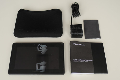 blackberry playbook - what's in the box