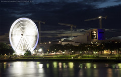 Brisbane eye ~ (Rawan Mohammad ..) Tags: eye wheel night river photography nikon photographer photos australia brisbane mohammed saudi arabia tamron ~ mohammad 2010 rn  2011 rawan        d300s rnona     almuteeb