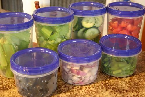 Salad Storage
