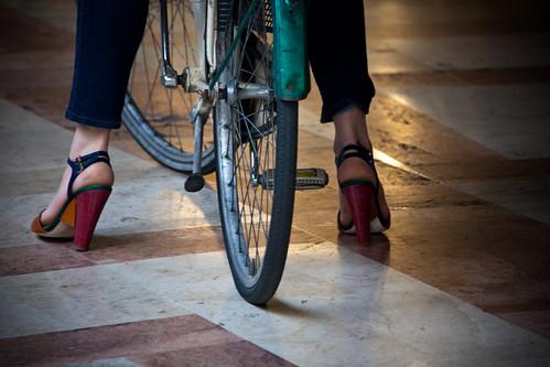 Scarpa da ciclo [Padova]