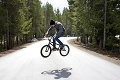 Life is _______! (Michael Overbeck | www.michaeloverbeck.com) Tags: road canada bike canon whistler michael bmx shoes flickr air contest 180 vans f4 blackcomb the 1740l in overbeck 60d