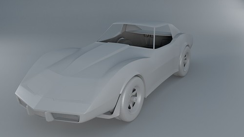 Corvette Stingray W.I.P.