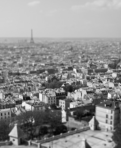 Tilt Shift Paris View