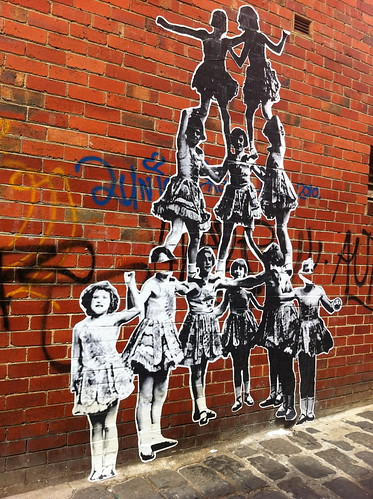 Fitzroy paste-up