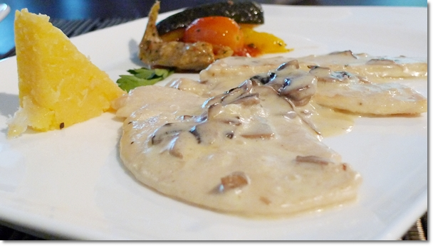 Fillet of Chicken Breast with Mushroom Sauce