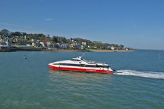 Cowes (Lynn Meacock (lifes been getting in the way)) Tags: ferry isleofwight solent cowes redfunnel fastcat