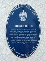 Photo of Mary Ann Clarke blue plaque