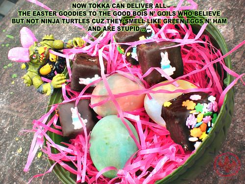 It's the Easter tOKKA, Charlie Brown v