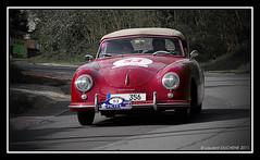 Porsche 356 Cabrio Pre A 1500S (1953) (Laurent DUCHENE) Tags: porsche cabriolet 356 1500s prea tourauto linasmonthléry