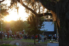 Outdoor Screening of Earth at NOMA