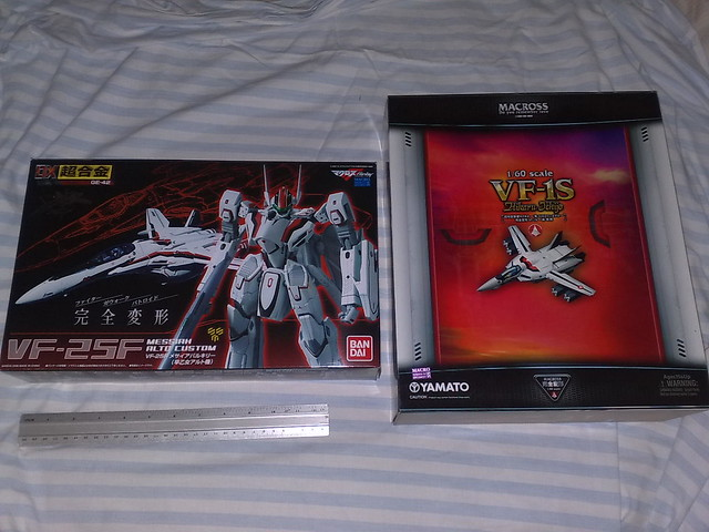 1/60 DX Chogokin VF-25F Messiah Valkyrie Alto Custom Box shots