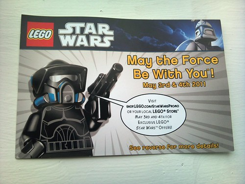 Custom minifig Lego Star Wars offers in UK - Shadow Arf Trooper
