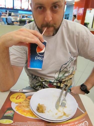 ShaolinTiger in KFC Kota Damansara