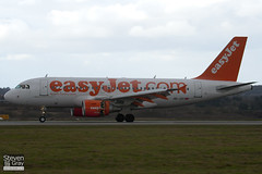 HB-JZO - 2398 - Easyjet - Airbus A319-111 - Luton - 110309 - Steven Gray - IMG_0688