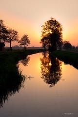 Sunrise Mirror (Reina Smallenbroek) Tags: reflection ne