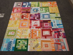 Project Special Delivery quilt top 004
