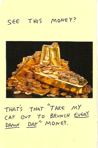 that cat brunch money by willlaren