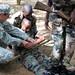 Rwandan Defense Force combat lifesaver training, March 2011