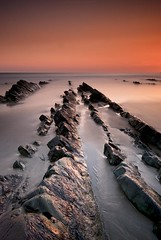 Last Breath (Scott Howse) Tags: uk longexposure sunset sea england bw coast rocks dusk devon lee filters graduated nd110 09h 09nd