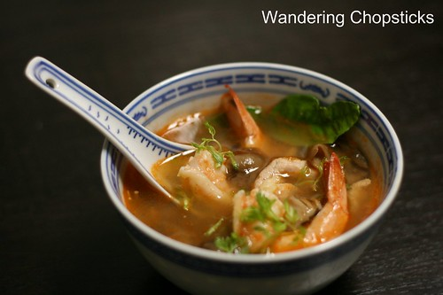 Tom Yum Goong Kai (Thai Hot and Sour Shrimp and Chicken Soup) 11