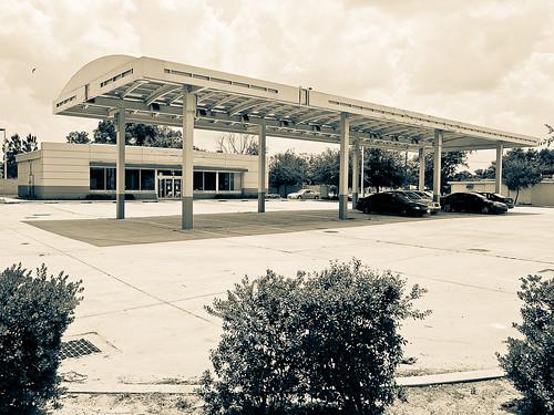 Dead BP station