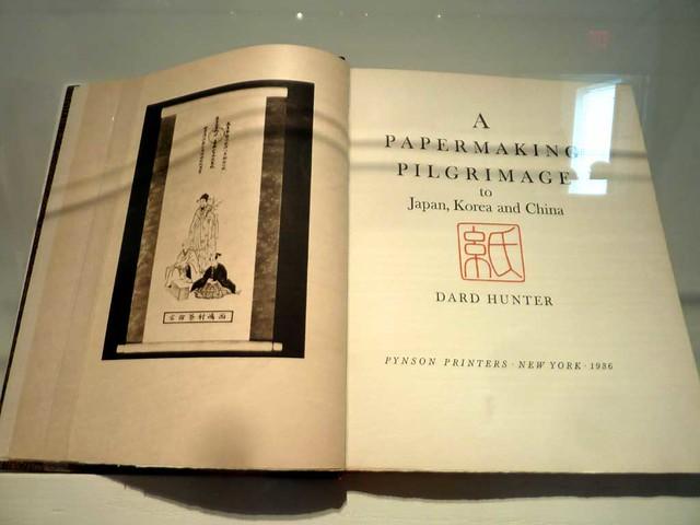 P1100211-2011-04-28-Williams-Paper-Museum-Ga-Tech-Dard-Hunter-Title-Page