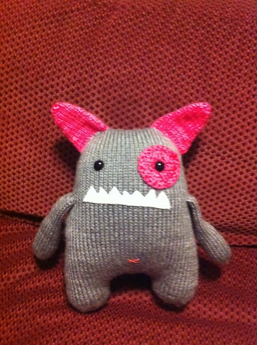 Dot the knit monster