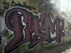 CYM (GRAB/ROAST) (Easeduzit) Tags: newmexico santafe art by graffiti tunnel zee roast hiphop spraypaint cym grab tnr ease tyo pfn wkt husle weso aersol psyne opanz