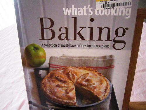 Baking book, take one