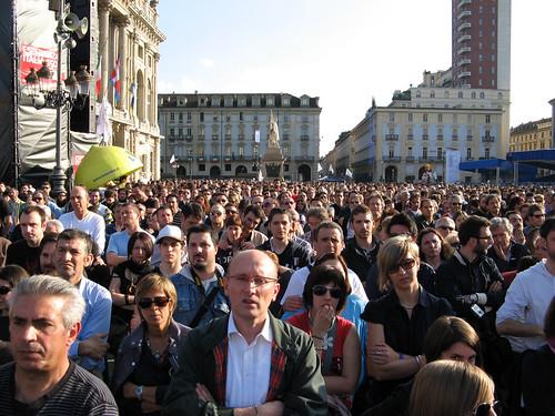 Beppe Grillo presentazione sindaco TO 3
