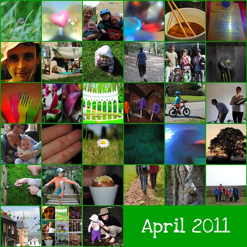 April 2011 by Stripyzebra