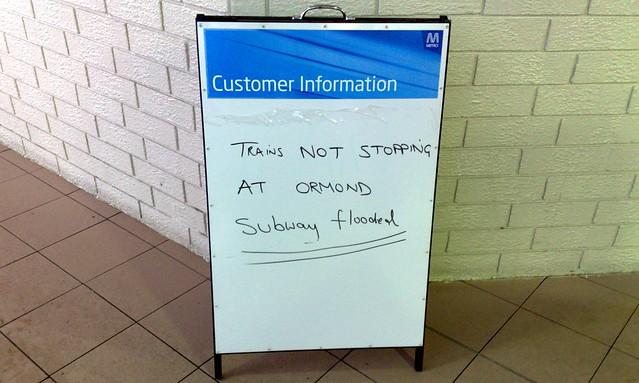 POTD: Flooding station subways