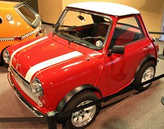 Customized 1961 Austin Mini (FlintWeiss) Tags: car automobile nevada reno minihaha nationalautomuseum andysaunders 1961austinmini