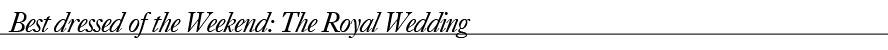 TITLEroyalwedding