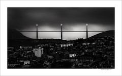 Millau Viaduct (Mike. Spriggs) Tags: bridge france millauviaduct
