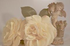 Cherub-&-Rose-take-2 (yazlot) Tags: roses rose yellow valentine cherub romantic muted
