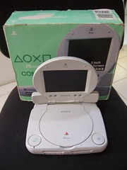 Psone Lcd Combo (Retrofranz) Tags: sony screen retro videogames gaming boxed lcd playstation combo psone videojuegos