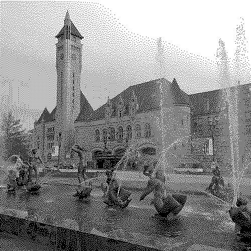 Union Station in Saint Louis - 1 bit depth image